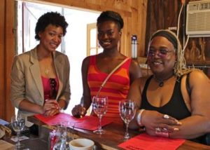 ladies wine tasting