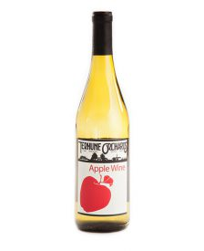 apple wine bottle
