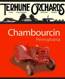 chambourcin wine label