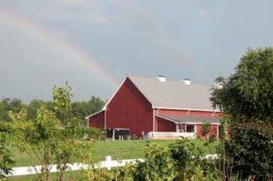 rainbow barn