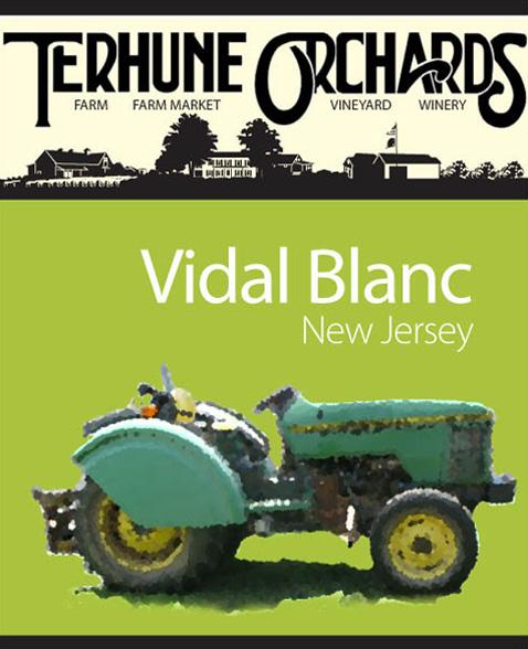 vidal blanc wine label