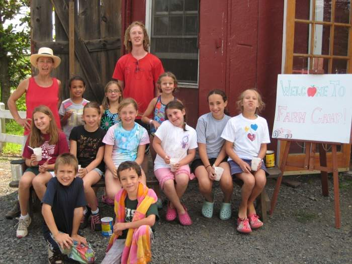 farm camp group shot