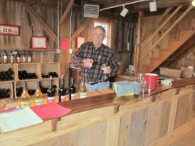 Gary Mount wine Terhune Orchards farm Princeton NJ
