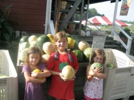 Mount family melons Terhune Orchards farm Princeton NJ