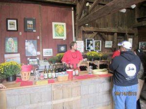 Mike Terhune Orchards wine tasting room