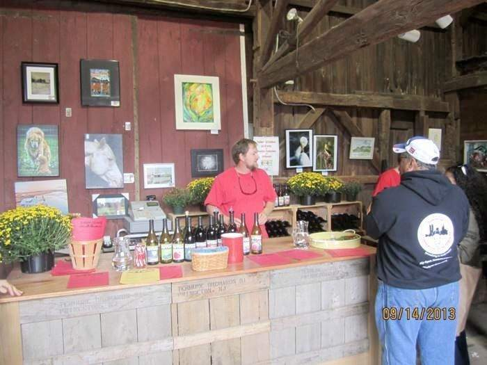Mike Terhune Orchards wine tasting room