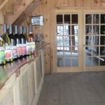 Terhune Orchards wine tasting room bottles