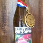 Terhune Orchards wine peach award