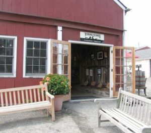 Terhune Orchards wine tasting room barn