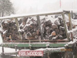winter firewood Terhune Orchards farm Princeton NJ