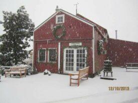 winter Terhune Orchards farm Princeton NJ