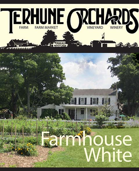 farmhouse white label