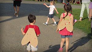 children at firefly festival
