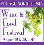 wine and food festival logo