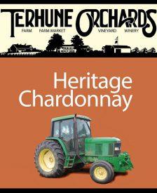 Heritage Chardonnay label