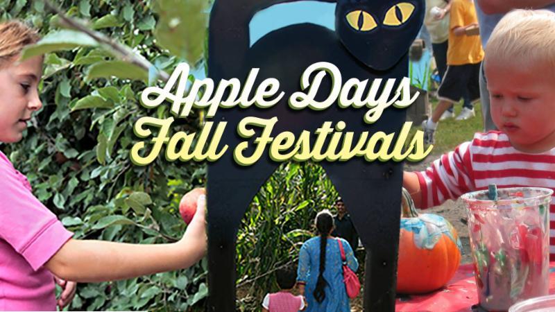 apple days fall festivals