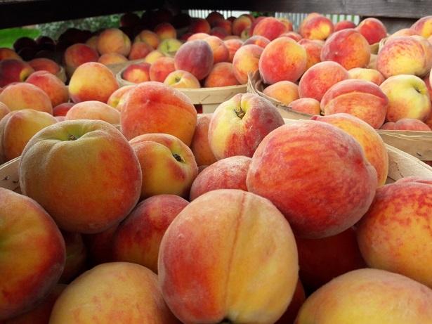 peach piles