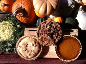 pies and squashes