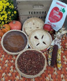 pies, squashes and donuts