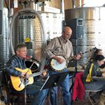 bill flemer and friend winery