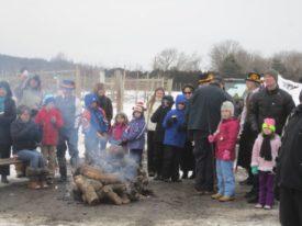 wassail bonfire