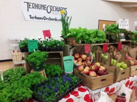 Mercer Green Fest farmstand 2019