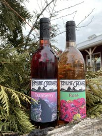 cranberry and rosé wines