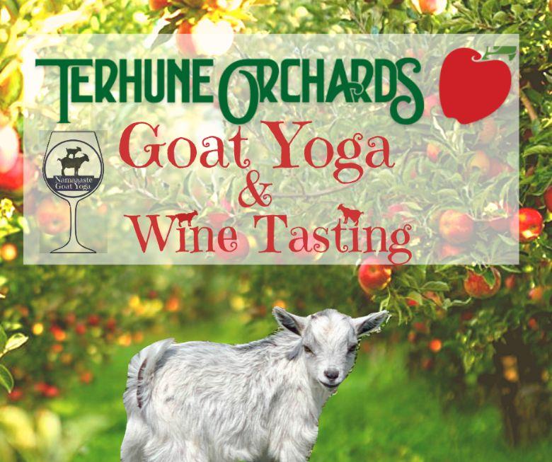 Goat Yoga Wine