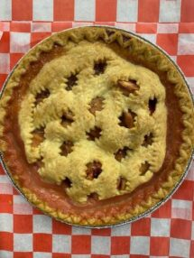 pie apple cranberry