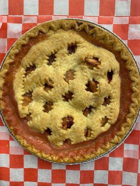 pie apple cranberry