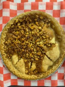pie apple walnut