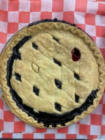pie blueberry