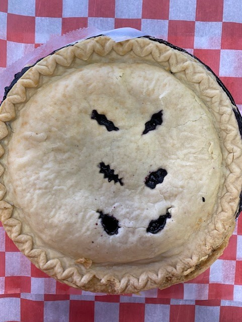 pie blueberry no sugar