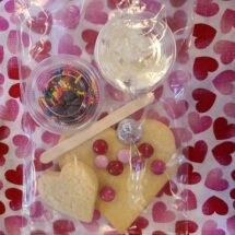 valentine's day cookie kit small