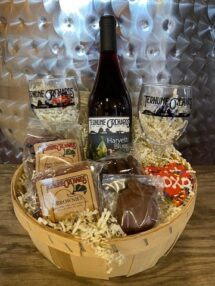 wine basket $45