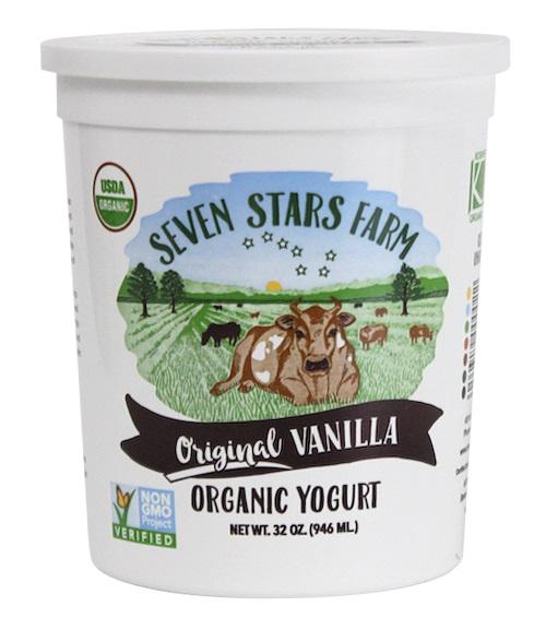 seven stars vanilla yogurt