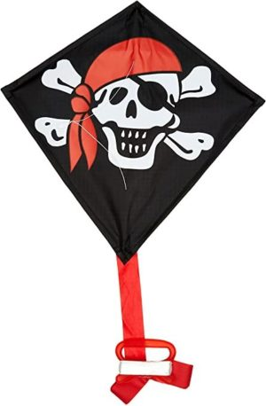 "Kite - 12"" Single Line Jolly Roger"
