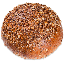 Bread - 9 Grain Boule sliced