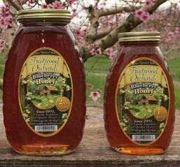 Fruitwood Orchards Blueberry Honey