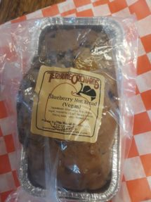 Fruit Bread - Vegan Blueberry Nut (large)