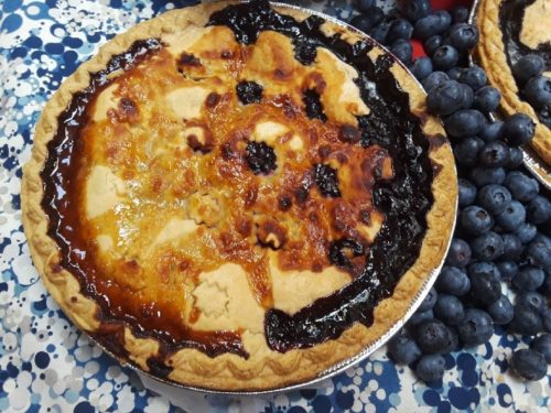 Pie - Lemon Blueberry