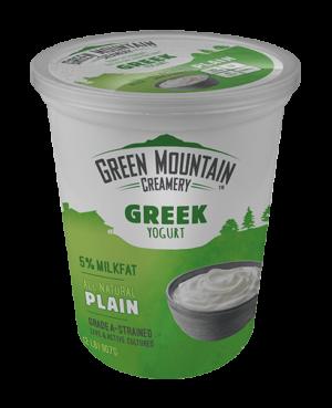 Green Mountain Plain Greek Nonfat Yogurt (32 oz)