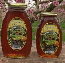 Fruitwood Orchards Wildflower Honey (2 lb jar)