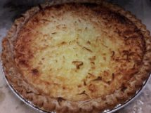 Pie - Coconut Custard
