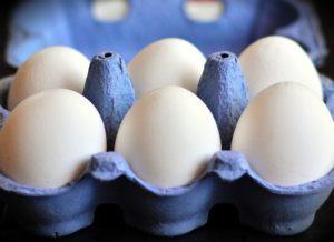 Puglisi white eggs