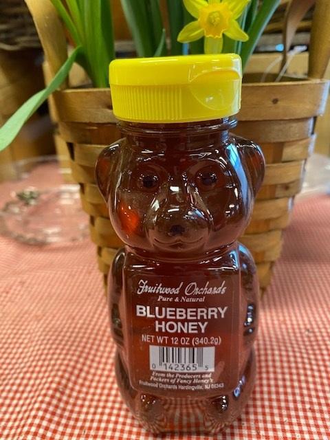 Fruitwood Orchards Blueberry Honey Bear