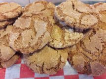Cookies - Gingersnaps (1/2 lb)