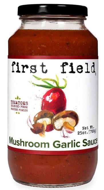 First Field Mushroom Garlic Sauce