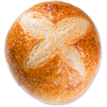 Bread - sourdough small boule unsliced