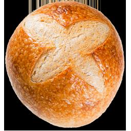 Bread - sourdough boule sliced